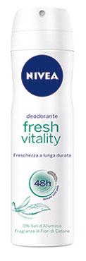 Linea deodoranti Nivea vari tipi