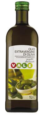 OLIO EXTRA VERG.DELICATO LT.1  VALE