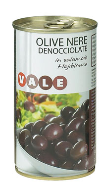 Olive nere snocciolate Vale 340 g