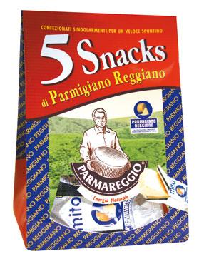 Parmigiano Reggiano DOP Snack 5 x 20 g