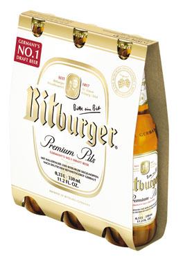 Birra Bitburger 3 x 33 cl