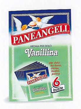 Vanillina per dolci Paneangeli x 6 buste 3 g