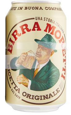 Birra Moretti lattina 33 cl