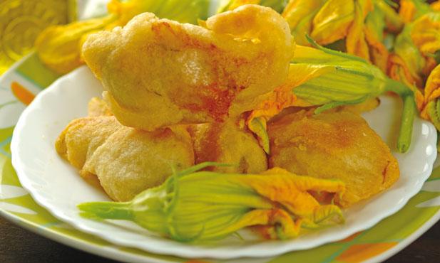 Fiori di Zucca fritti e ripieni Antica Gastronomia al kg