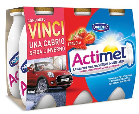 Actimel Danone vari gusti 6 x 100 ml
