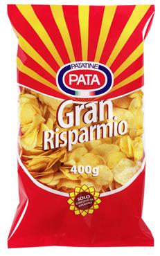 Patatine Gran Risparmio Pata 400 g