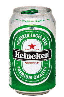 Birra Heineken lattina 33 cl