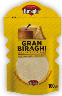 Gran Biraghi formaggio grattugiato 100 g