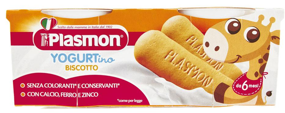 Yogurt vari gusti Plasmon 2 x 100 g