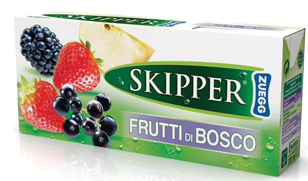 Succhi di frutta Skipper vari tipi brik 3 x 200 ml