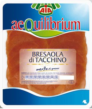 Aequilibrium bresaola di tacchino 100 g