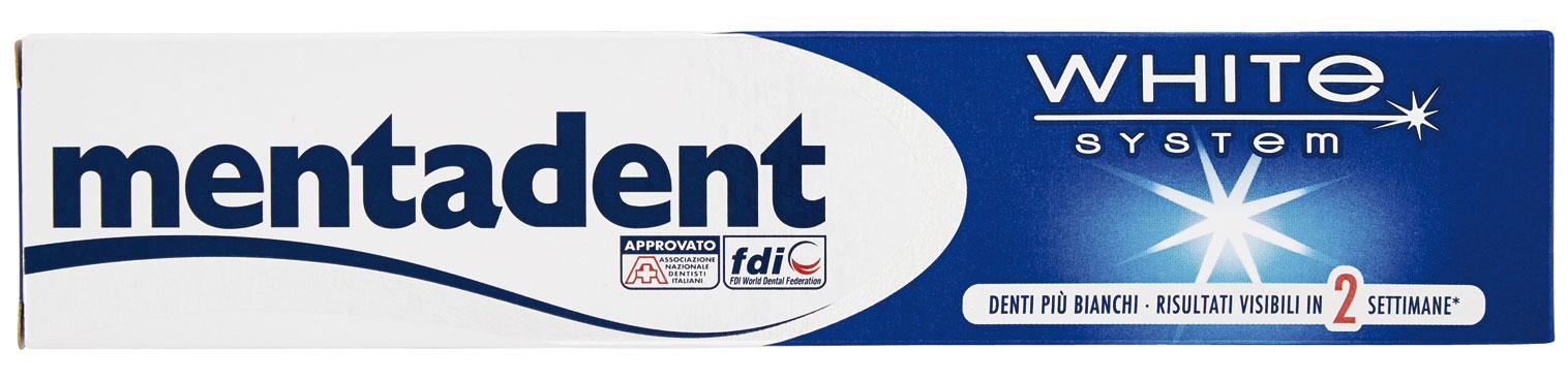 Dentifrici Mentadent vari tipi 75 ml