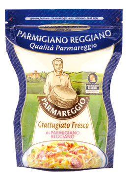 Parmigiano Reggiano DOP Parmareggio grattugiato 60 g