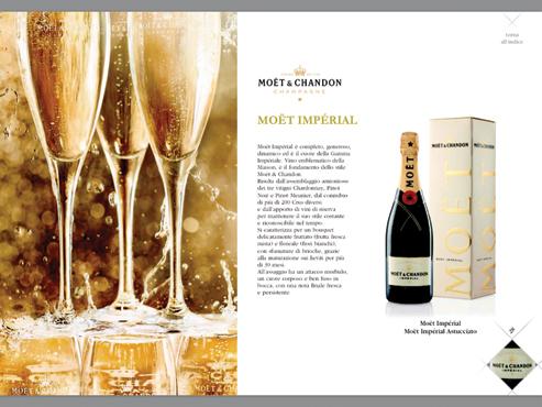 Champagne Moet & Chandon brut impe'rial 75 cl