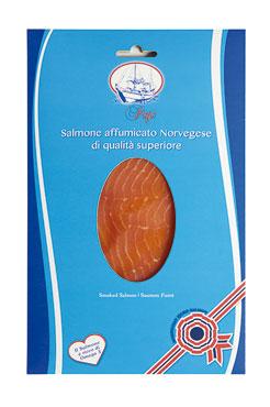 Salmone norvegese affumicato Papi 100 g