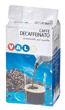 CAFFE'DECAFFEINATO GR.250  VALE