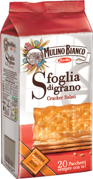 Crackers Mulino Bianco salati/non salati 500 g