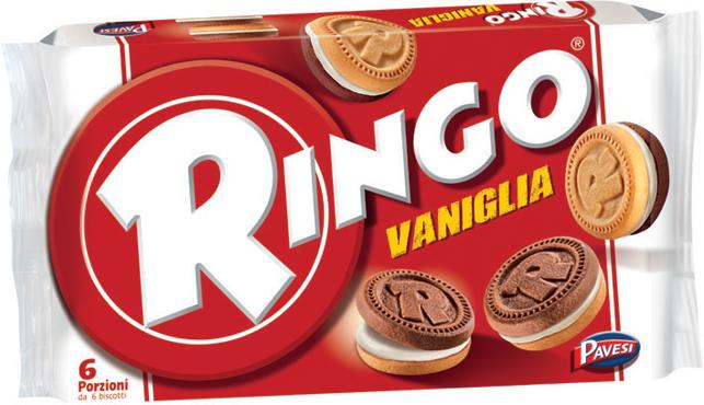 Ringo famiglia vari gusti 330/310 g