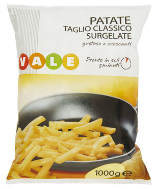 PATATE PREFRITTE BS.KG.1  VALE