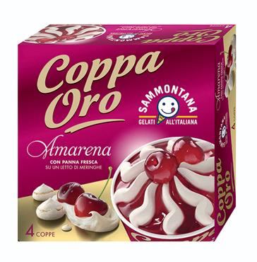 Coppa Oro Sammontana vari gusti 360 g