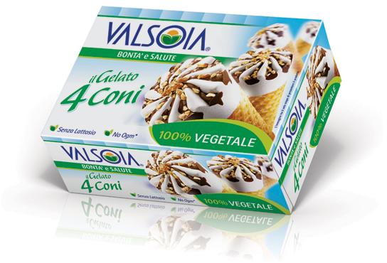 Coni gelato Valsoia 300 g