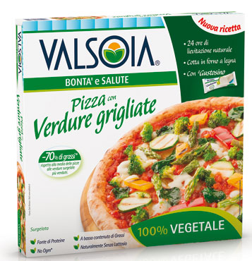 Pizza Cinqueverdure Valsoia 330 g
