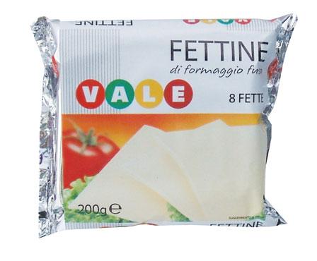 Fettine Formaggio fuso Vale 200 g