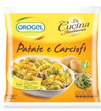 Patate e Carciofi Orogel 400 g