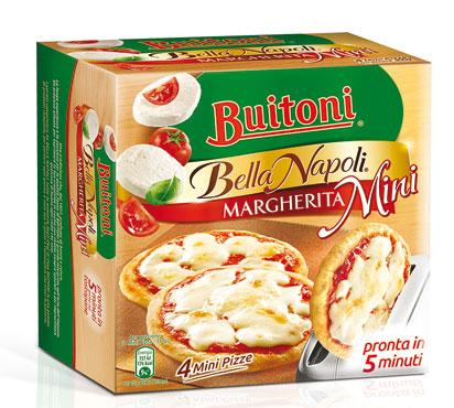 Mini pizza Bella Napoli Buitoni 300 g