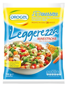 Minestrone Leggerezza Orogel 750 g