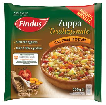 Zuppa Tradizionale/Ortolana Findus 600 g