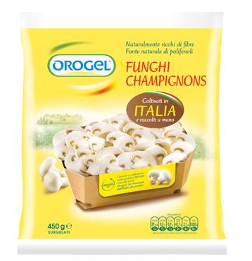 Funghi champignons Orogel 450 g