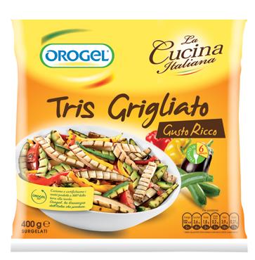 Tris grigliato Orogel 400 g