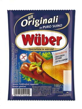 Wurstel Wuber x 4 pz 100 g