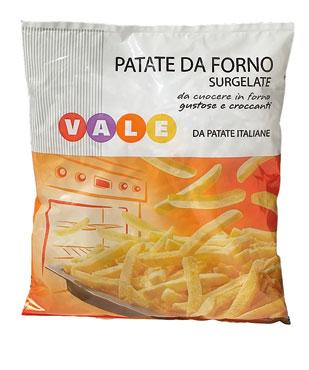 PATATE DA FORNO GR.750  VALE
