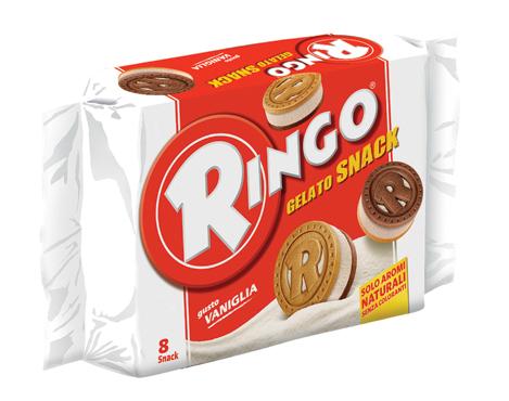 Ringo gelato vari gusti 280/400 g
