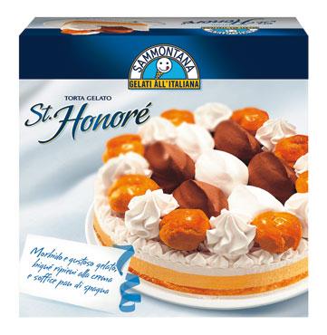 Torta St. Honore' Sammontana 750 g