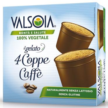 Coppe gelato Valsoia x4 280 g