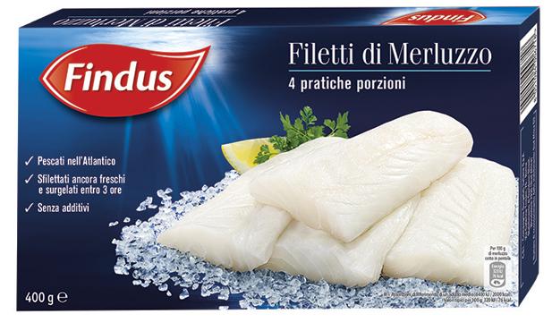 Filetti di merluzzo Findus 400 g