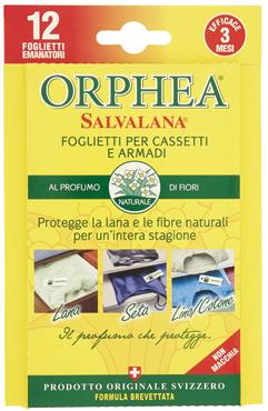 Orphea Salvalana 12 fogli assortiti