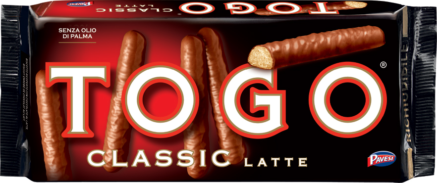Togo Pavesi latte/noir 120 g