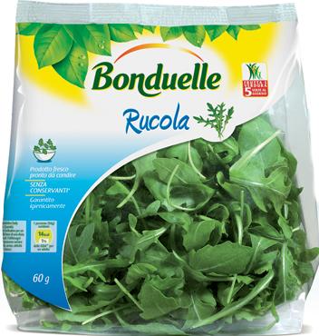 Rucola  Bonduelle 60 g ,al pz