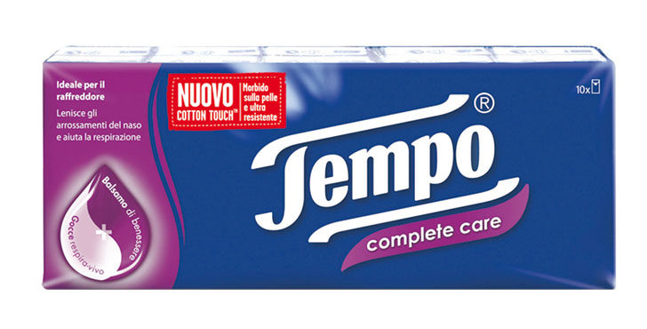 Fazzoletti Tempo box x80/pocket x10/x12