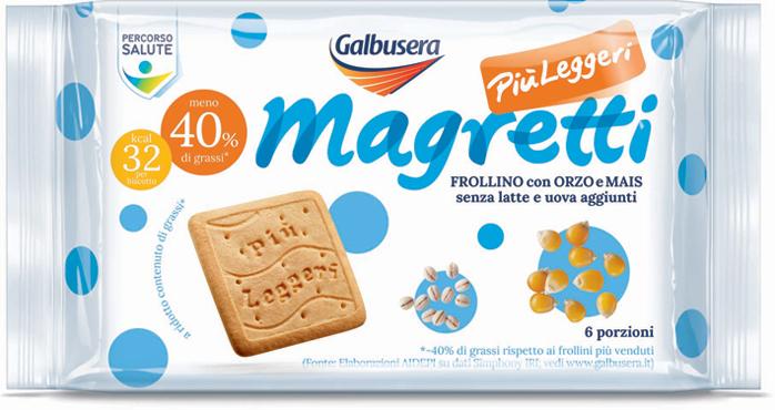 Frollini Magretti Galbusera Orzo/cioccolato 350/260 g