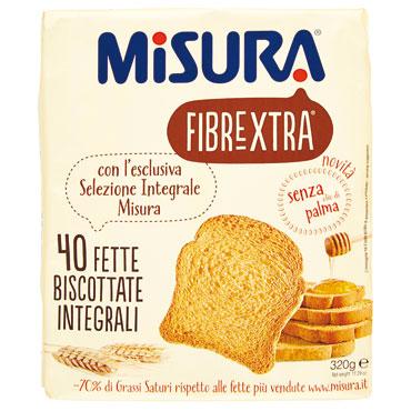 Fette biscottate Misura vari tipi 320 g