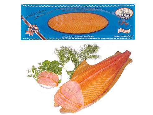 Salmone norvegese affumicato qualita' superiore Papi al kg