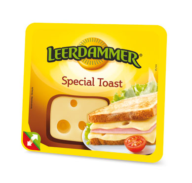 Leerdammer fette special toast 125 g