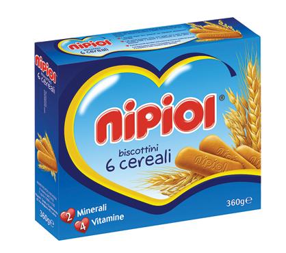 Biscottini Nipiol 360 g