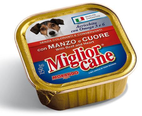 Migliorcane vaschetta manzo/pollo 150 g