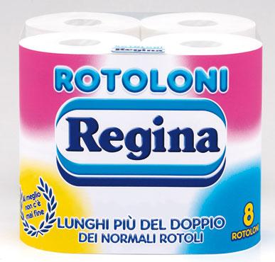 Carta Igienica Rotoloni Regina x 8